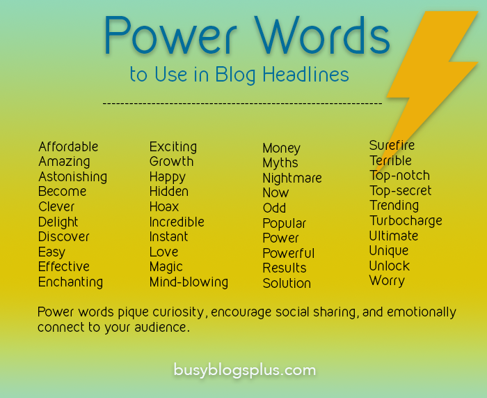 blog headline tips